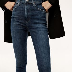 Naked & Famous High-Waisted Raw Selvedge Jeans